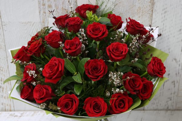 24 Red Rose Bouquet