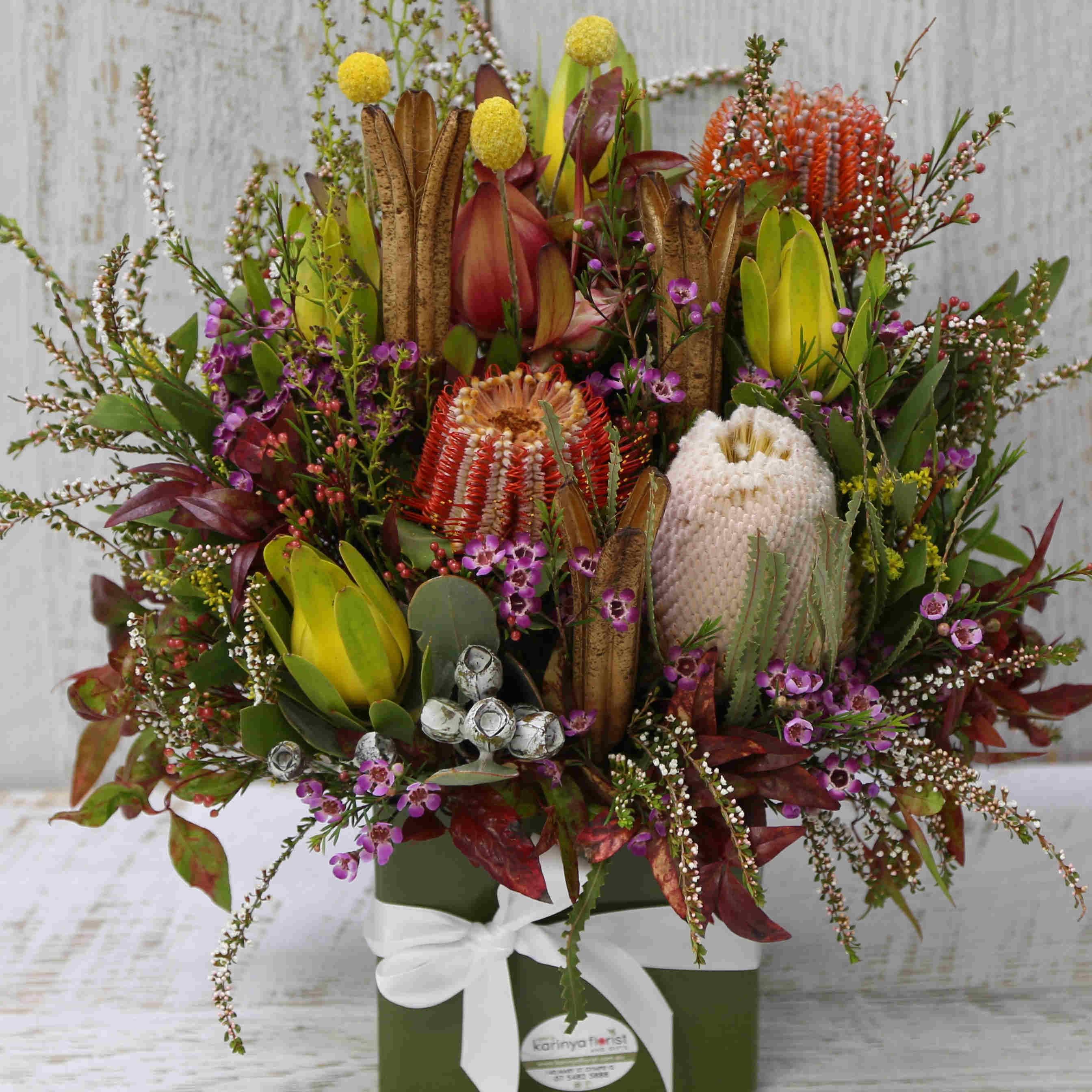 Australian Native Arrangement Karinya Florist