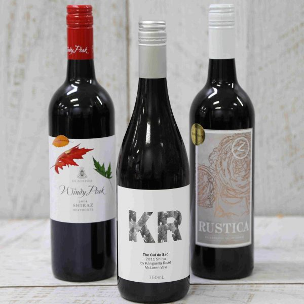 Specially sourced Red Wines from Australia and New Zealand