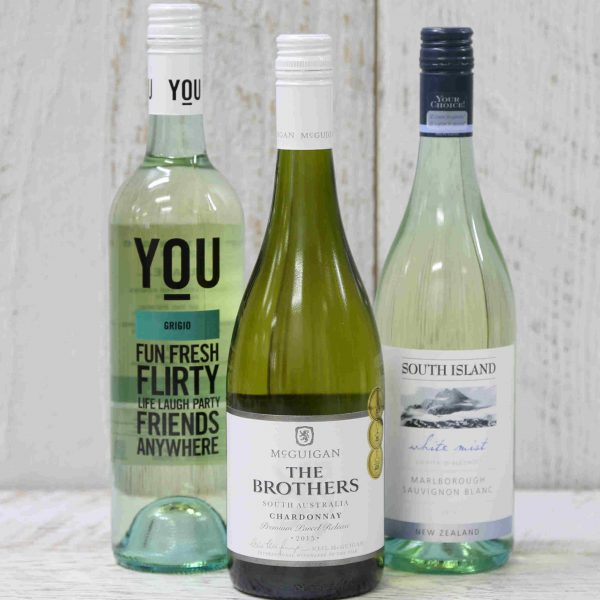 Special select white wines from Australia and New Zealand