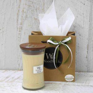 Vanilla Bean Woodwick Candle