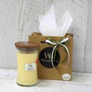 Lemongrass and Lily Woodwick Candle