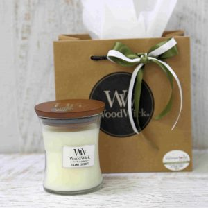 Tropical Coconut Woodwick Candle