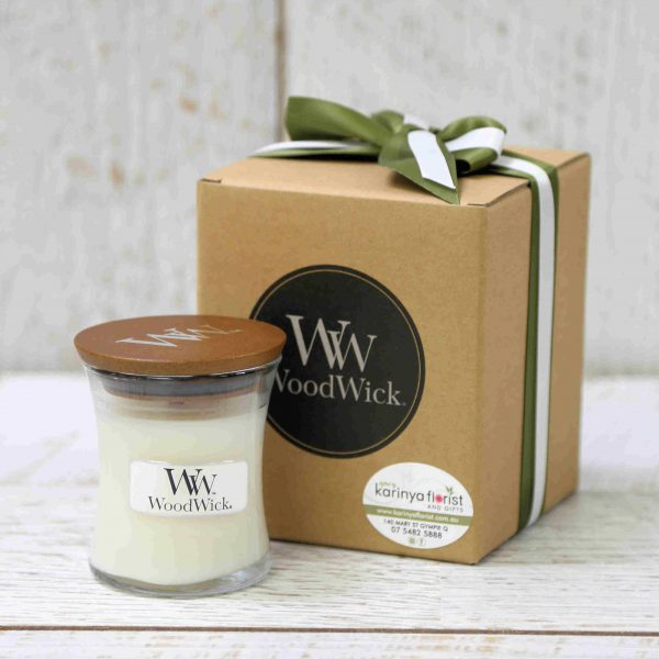 Baby Powder Woodwick Candle