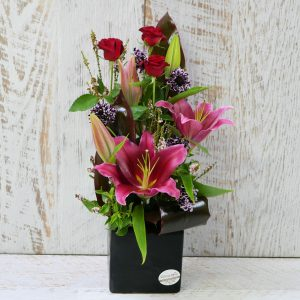 Rose and Lilly Arrangement