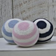 Emotion and Kids Crochet Rattle Ball
