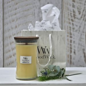 Lemongrass and Lily Large Woodwick